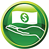 insurance and financing icon