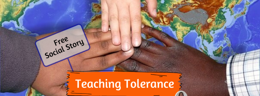Teaching tolerance as the first step to acceptance