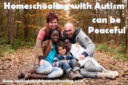 Homeschooling with Autism can be Peaceful