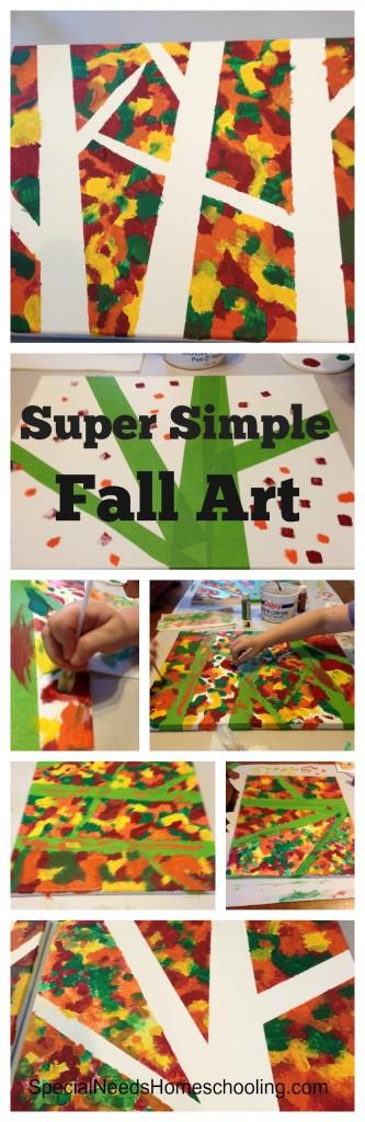 Super Simple Fall Art