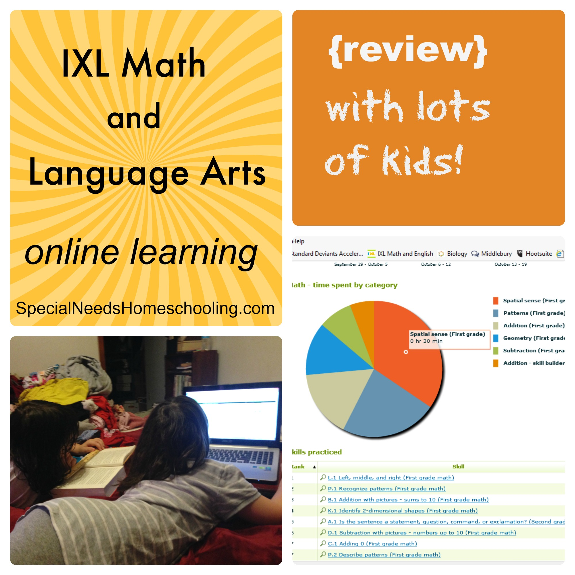 Ixl Math And Language Arts Online Learning Review