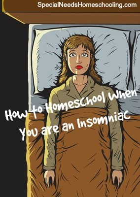 How to Homeschool When You are an Insomniac