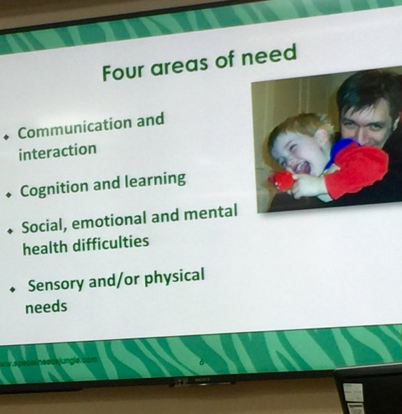 Four areas of need