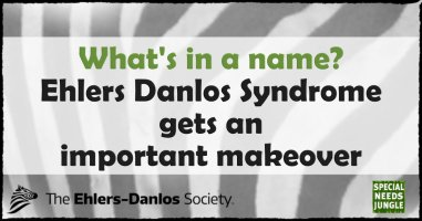 What's in a name: Ehlers-Danlos Syndrome gets an important makeover