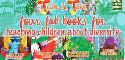 Truth and Tails, four fab books for teaching children about diversity [giveaway]