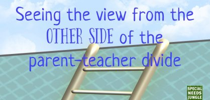 Seeing the view from the other side of the parent-teacher divide
