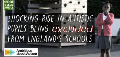 Shocking rise in autistic pupils being excluded from England's schools