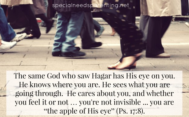 When you feel invisible, remember God sees.