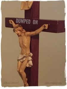 dumped on