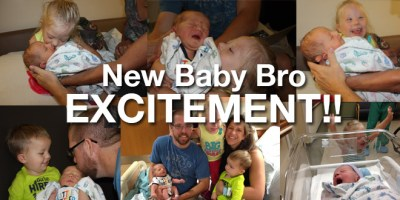 New Baby Brother Brings New Excitement