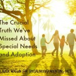 Crucial Truth About Special Needs and Adoption