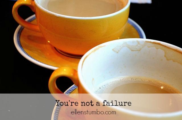 you're not a failure special needs parent