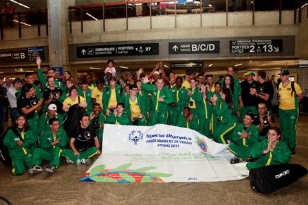 Atletas da Special Olympics já estão em Atenas