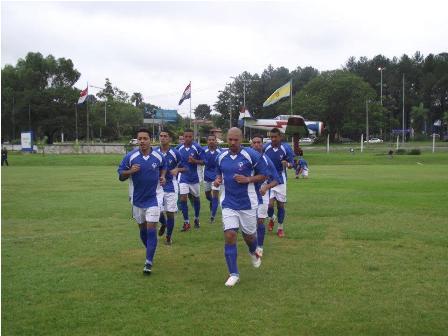 Seleção da SOB na disputa pelo 5º lugar