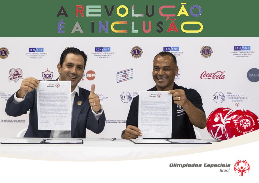 Cafú confirmado como novo Embaixador Global da Special Olympics