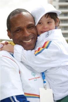 Robson Caetano da Silva, embaixador da Special Olympics Brasil