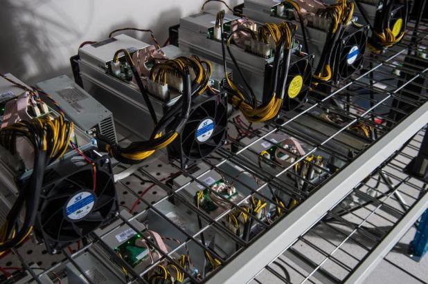 Blockchain: Orvault (North-western France): Bigblock Datacenter bitcoin mining farm