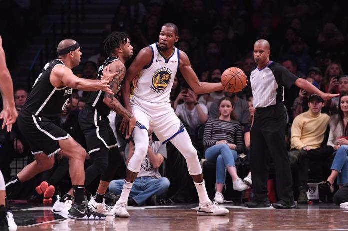 Golden State Warriors vs. Brooklyn Nets