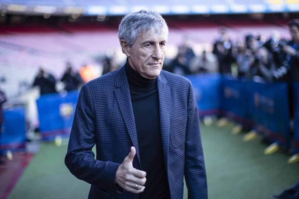Barcelona Coach Setien Speaks On Granada, Messi, Suarez, Arthur ...