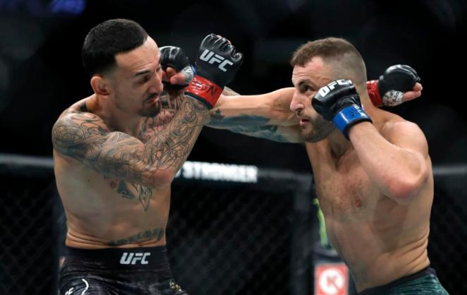 Max Holloway and Alexander Volkanovski meet in the co-main event of tonight's UFC 251 pay-per-view card