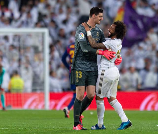Courtois Marcelo Injuries And Coronavirus Could Hamper Real