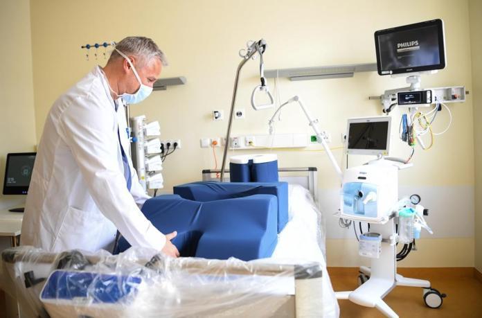 Charité prepares for intensive care patients COVID-19