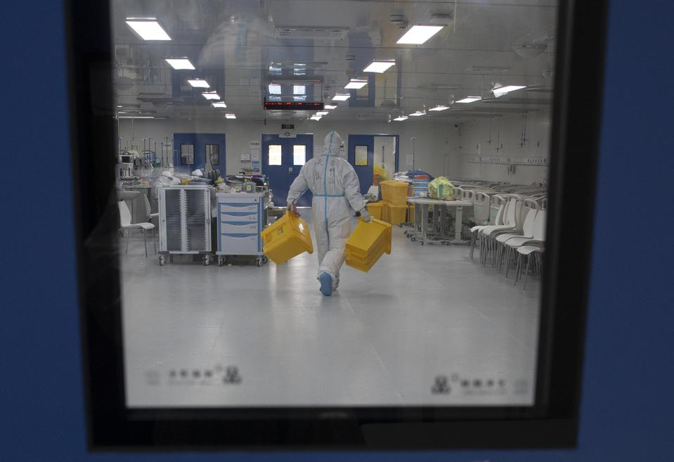 Wuhan Leishenshan Hospital Closed