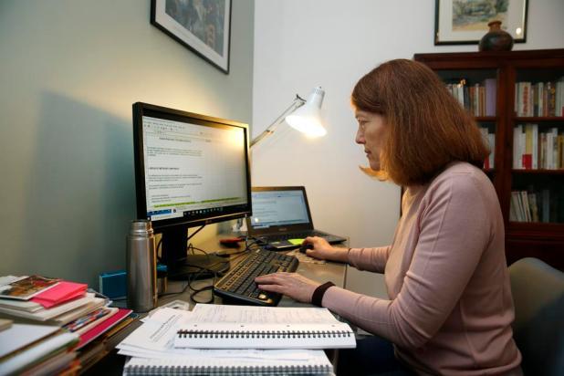 Working during the coronavirus