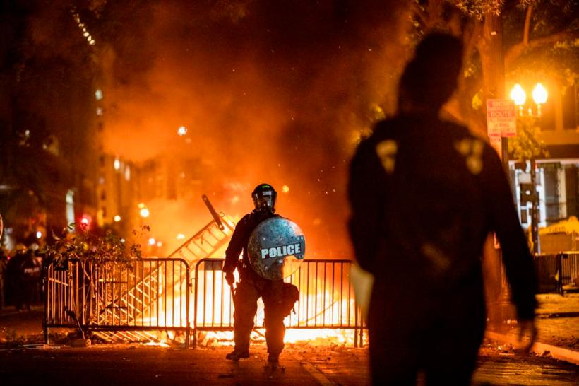 US-POLICE-RACE-UNREST-DEMONSTRATION-minorities-politics