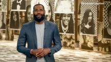 "LeBron James Starts Voting Rights Campaign ""More Than a Vote"" to Get Out Young Black Voters and Ewith Other Sports Stars Including Draymond Green and Trae Young"