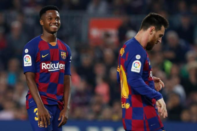 Is Ansu Fati The Heir To Lionel Messi At Barcelona, And How Much ...