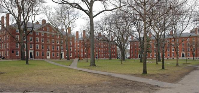 Harvard Yard in Cambridge