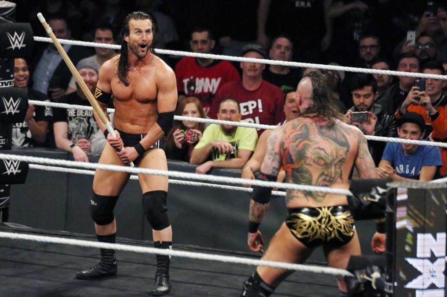WWE NXT übernimmt Philadelphia: Adam Cole gegen Aleister Black