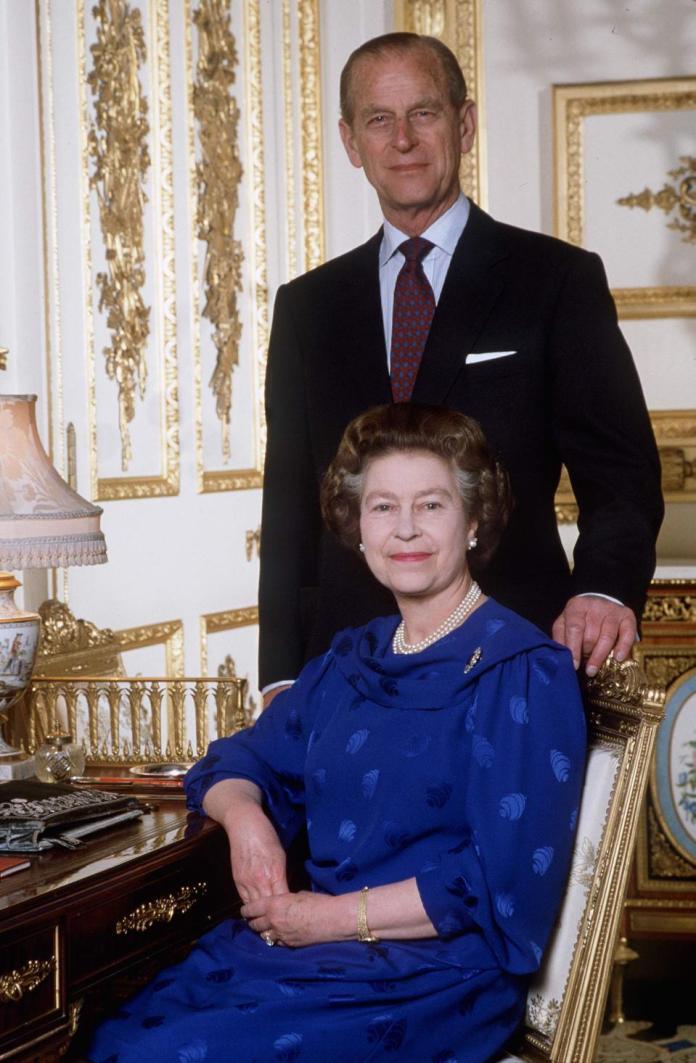 Queen Philip In Windsor Castle