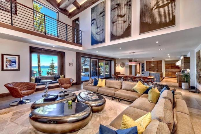 Villa Harrah sala de estar