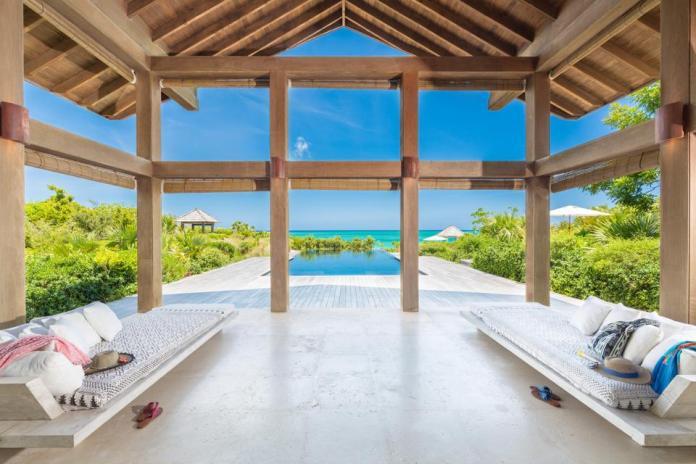 Point House en Parrot Cay en Turks & Caicos