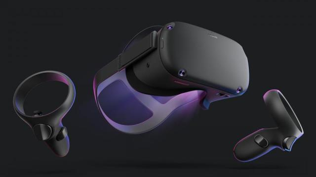 The Oculus Quest VR system