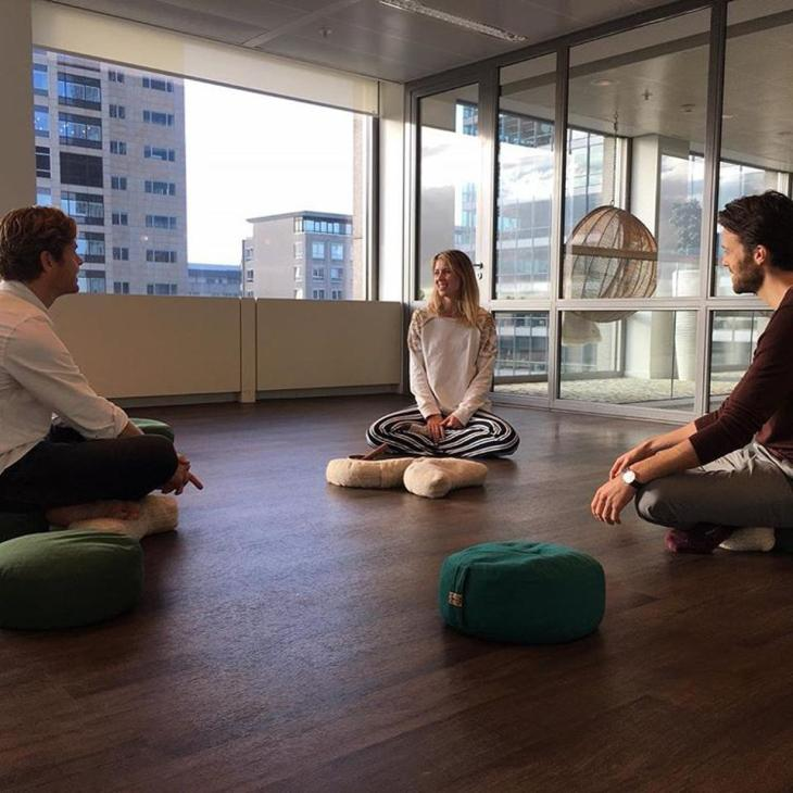 meditation class at work