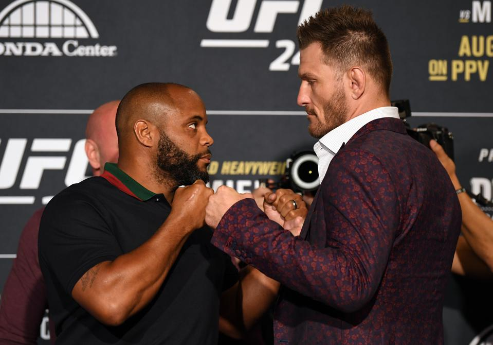 UFC 241 Cormier v Miocic 2: Ultimate Media Day