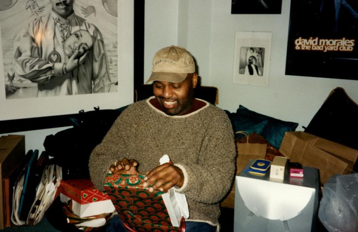 Frankie Knuckles at Christmas
