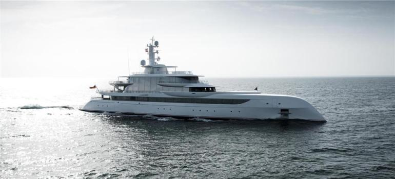 The superyacht Excellence was built for a well-known Ameriacn businessman