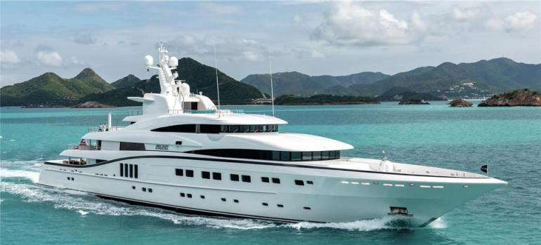 The superyacht Secret will be one of the largest yachts at the 2019 Monaco Yacht Show.