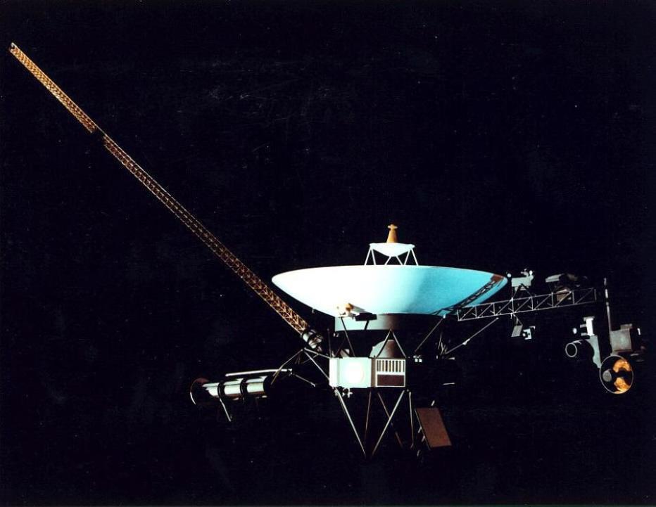 Illustation of American spacecraft Voyag