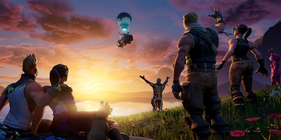 Image result for fortnite the end