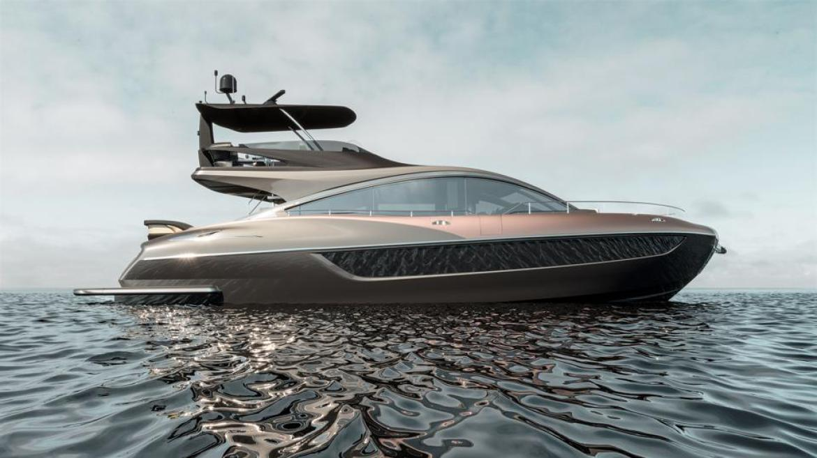 This is the Lexus yacht to go with your Lexus automobile.