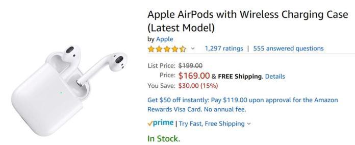 Amazon Black Friday 2019, Apple Black Friday 2019, Black Friday AirPods 2 deals