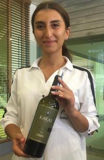 Astghik Derdzyan of Karas Wines