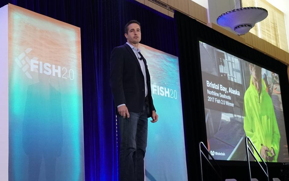 Jason Berryhill speaking at Fish 2.0