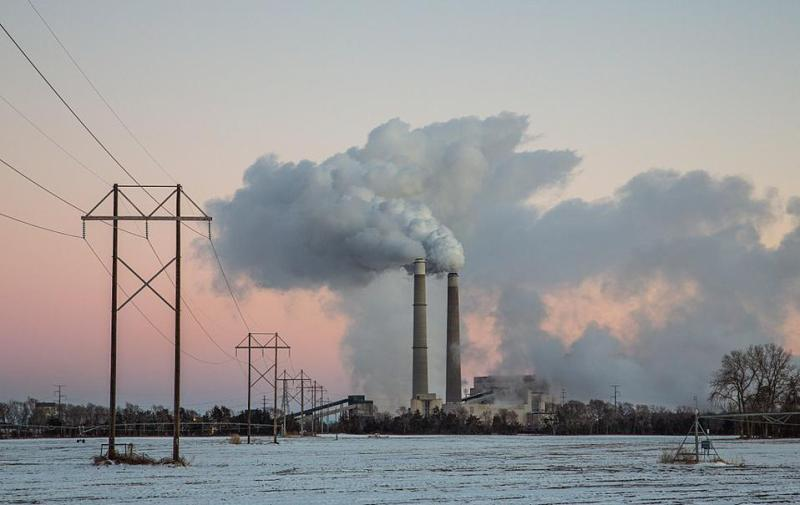 Xcel Energy's Sherco Generating Station Coal Power Plant