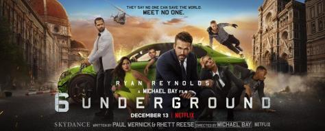 De cast van 6 Underground Netflix recensie